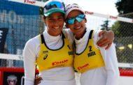 Duda e Ágatha passam para as oitavas de final na Suíça