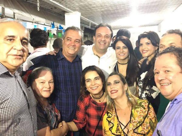 ex-prefeito do município, Ezequiel Leite (PR) agradece aos amigos e correligionários, à classe política