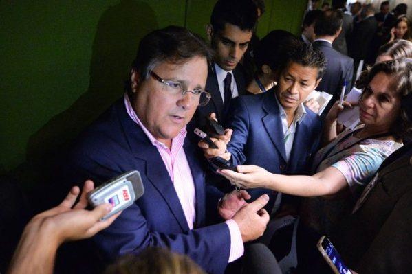Ex-ministro Geddel Vieira Lima, preso nesta segunda-feira (3) a pedido do Ministério Público Federal (Foto: Edilson Rodrigues/Agência Senado)