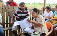 Prefeitura de São Cristóvão realiza cadastro de famílias no Assentamento 'Novo Sonho'