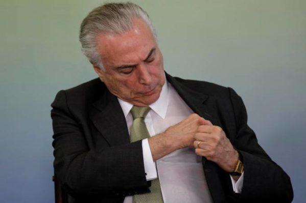 Câmara notifica o STF da decisão que não autoriza investigar o presidente Temer