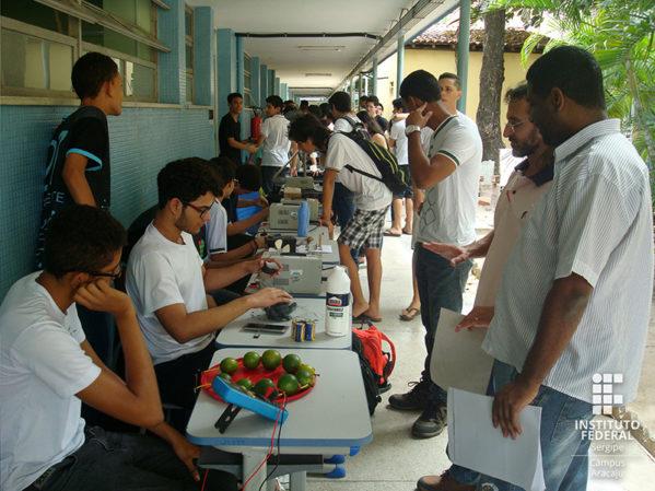 Pesquisas e protótipos com caráter tecnológico desenvolvidos por alunos dos cursos técnicos estarão em exposição durante dois dias no IFS - Campus Aracaju