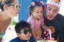 Wesley Safadão comemora aniversário da filha em parque no Ceará