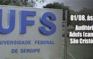 Adufs, Sintufs e DCE convocam coletiva de imprensa para discutir corte de recursos na UFS