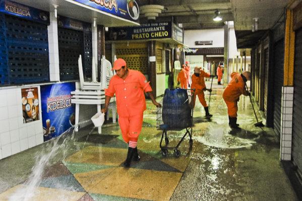 Após limpeza geral, Mercado Albano Franco reabre normalmente amanhã