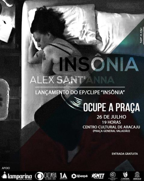 Ocupe a Praça terá lançamento de clipe e EP de Alex Sant'ana