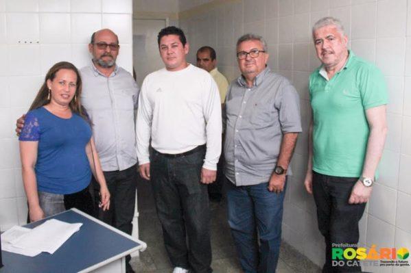 Numa parceria com o Ministério da Saúde, o Programa Saúde da Família (PSF) de Rosário do Catete passa a contar com o reforço de mais dois profissionais médicos vindos de Cuba, através do Programa Mais Médicos.
