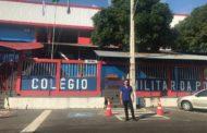 Capitão Samuel visita colégio militares no Amazonas