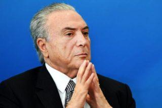 O presidente Michel Temer deve anunciar hoje a meta fiscal (PMDB) (Evaristo Sá/AFP)