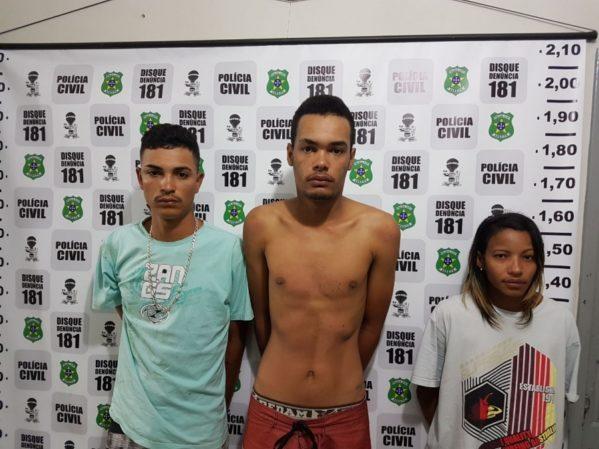 Trio é preso por tráfico de drogas em Dores com arma e aparelhos celulares