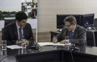 Novo presidente da Codevasf assume o cargo em cerimônia na sede da empresa, em Brasília