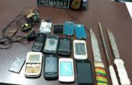 Após morte de detento, armas e celulares são apreendidos no Presídio de Tobias Barreto