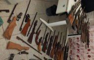 30 armas de fogo são apreendidas em Umbaúba