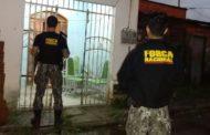 Operação conjunta com Força Nacional representa 20 mandados de prisão