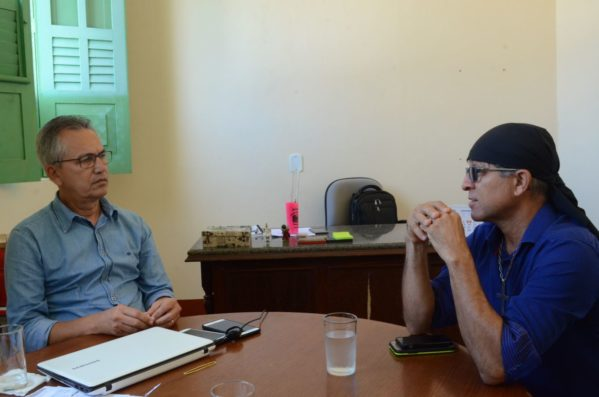A reunião com o prefeito de São Cristóvão, Marcos Santana ocorreu na sexta-feira, 11