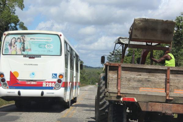 Falta de manutençao na Rodovia João Bebe Água tem sido motivo de reclamação em São Cristóvão (foto: SE Notícias)