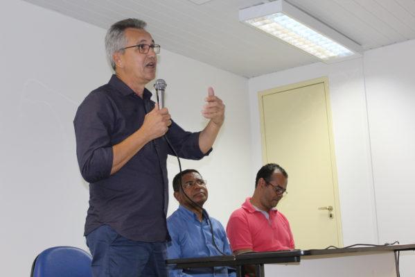 Na UFS, prefeito de São Cristóvão apresenta programas desenvolvidos no município