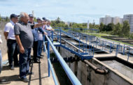 Governador visita obras que garantem abastecimento e esgotamento da Grande Aracaju