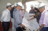 Governador visita obras da Maternidade Hildete Falcão