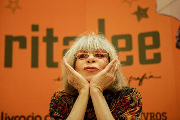 Rita Lee no lançamento de sua autobiografia em 2017. Foto: Gabriela Biló/Estadão FOTO GABRIELA BILO / ESTADAO