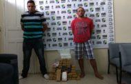 Polícia Militar prende dupla com mais de 60kg de droga em Itabaiana