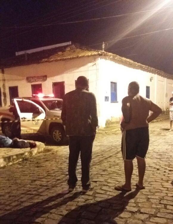 Bruno foi assassinado a tiros a poucos metros do CISP (foto: Redes Sociais)