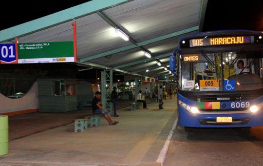 Transporte público de Aracaju terá horário especial durante o Forró Caju