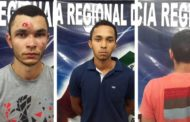 Operação resulta na prisão de dois indivíduos e na apreensão de um adolescente em Itabaiana