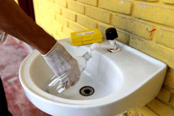 Qualidade da água é inspecionada pela Vigilância Sanitária
