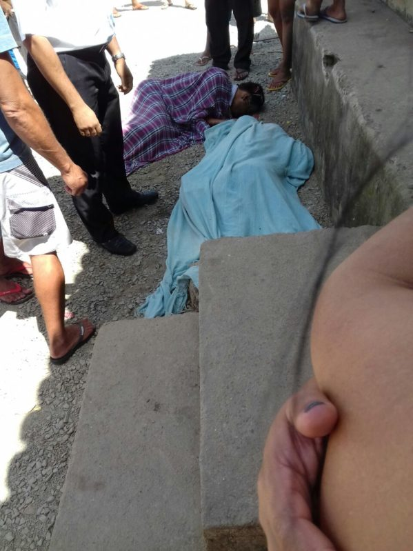 foram a tiros na manhã deste sábado, 12, em Santa Rosa de Lima