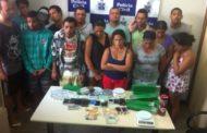 Operação da Polícia Civil prende 15 suspeitos de tráfico de drogas na Bahia e Sergipe