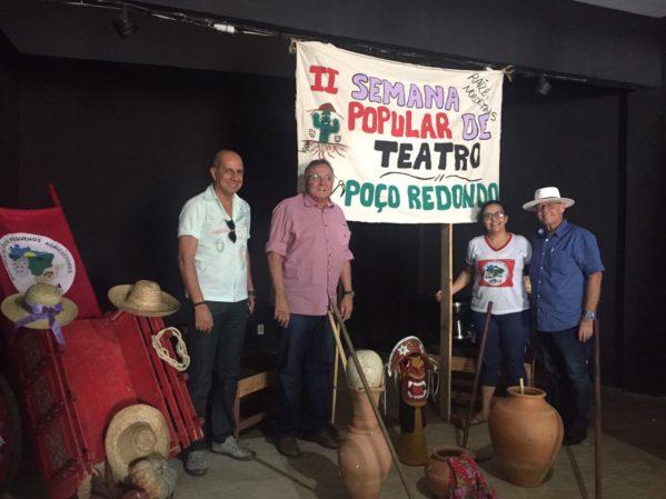II Semana Popular de Teatro é promovida em Poço Redondo