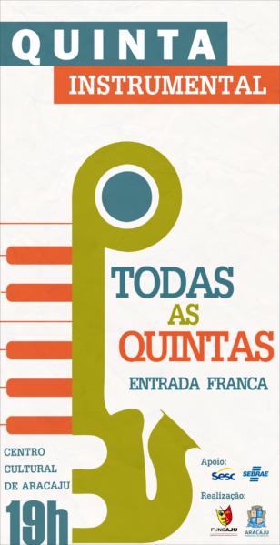 Quinta Instrumental: primeira edição traz o guitarrista Fred Andrade