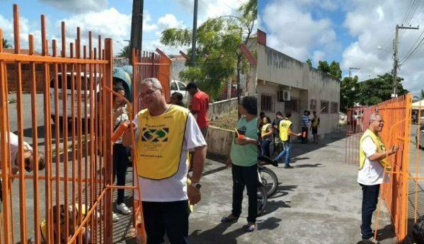 Prefeitura de Socorro organiza mais um mutirão de pintura em Unidade de Saúde do Marcos Freire III