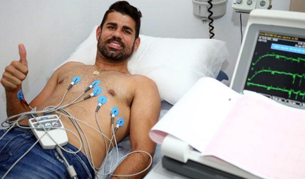 Diego Costa é aprovado nos exames médicos e está de volta ao Atlético de Madrid (Foto: Divulgação / Atlético de Madrid)