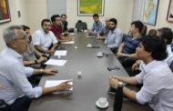 Na UFS, prefeito participa de reunião sobre projetos que serão implantados em São Cristóvão