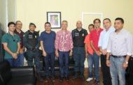 Prefeito Marcos Santana se reúne com a cúpula da polícia para tratar sobre Segurança em São Cristóvão