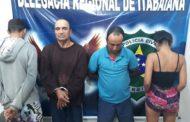 Operação resulta na apreensão de drogas, armas de fogo e prisões em Itabaiana
