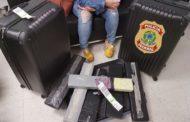 Mulher é presa com 45 mil comprimidos de ecstasy em aeroporto no RN