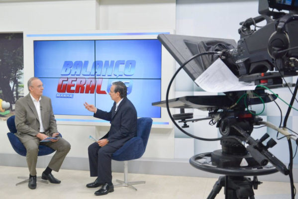 Eduardo Amorim (PSDB-SE) lamentou em entrevista concedida ao programa Balanço Geral