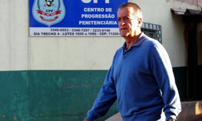 Valdemar Costa Neto, quando cumpria pena: padrinho oculto do partido (foto: Aílton de Freitas / Agência O Globo)