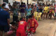 Turista morre afogado na Praia da Caueira, em Itaporanga; assista