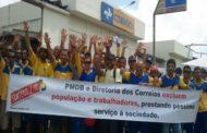 Trabalhadores dos Correios de Sergipe aderem à greve nacional