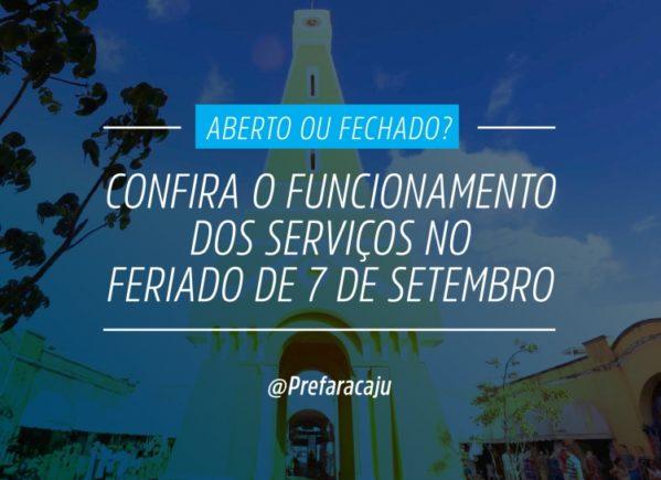 Confira o horário de funcionamento dos serviços no feriado da Independência