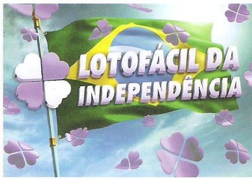 Confira o resultado da Lotofácil da Independência