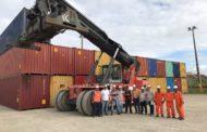 Porto de Sergipe começa a movimentar contêineres