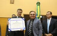 Promotor Henrique Ribeiro é o mais novo cidadão sergipano