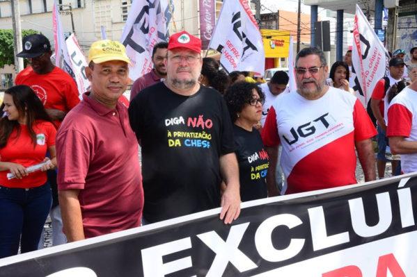 João Daniel destaca importância dos sergipanos nas ruas na luta por direitos e democracia