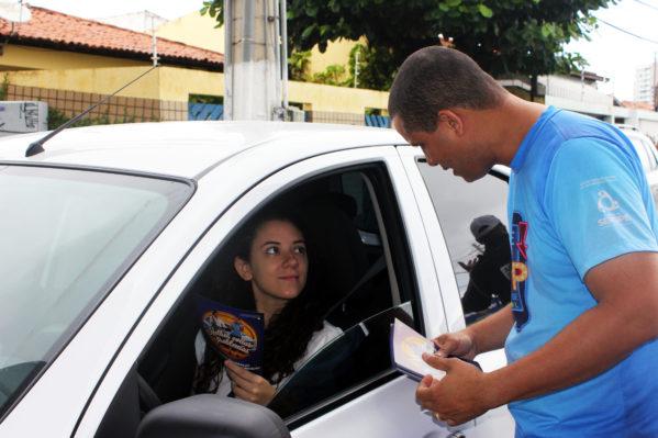 A iniciativa surgiu por conta do crescente número de acidentes de trânsito causado pela combinação entre celular e direção