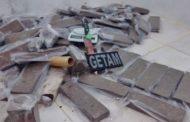 Polícia Militar apreende 40 quilos de maconha na Aruana
